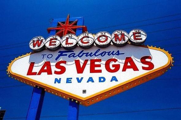 Las Vegas Sign - (USA, Sehenswürdigkeiten, Amerika)