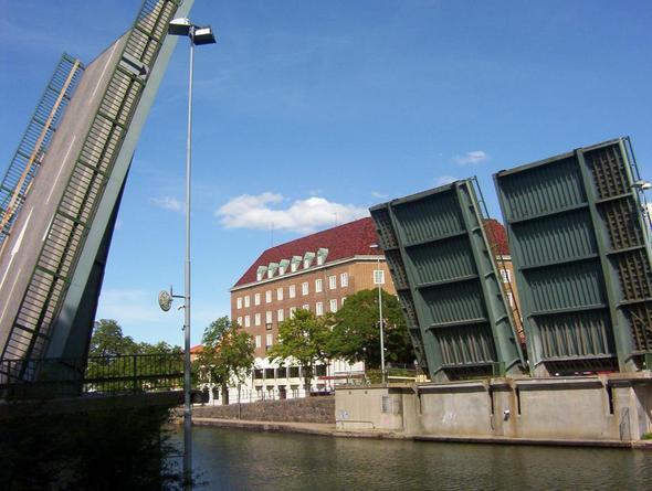 hubbrücke trolhatan und risen wasserfall - (Wandern, Norwegen, Schweden)