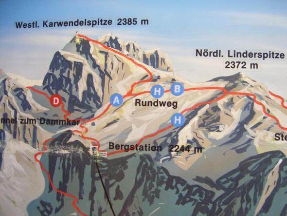 Wanderwege Karwendel - (Österreich, Wanderung, Berge)