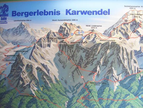 Schwierigkeitsgrade am Karwendel - (Österreich, Wanderung, Berge)
