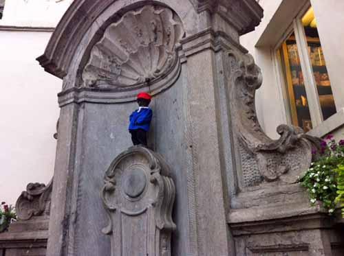 Das Wahrzeichen in Brüssel - (Europa, Belgien, Brüssel)