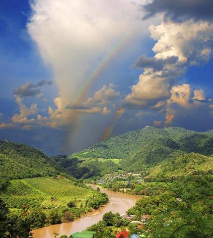 Der Mekong in Laos - (Reise, Asien, Thailand)