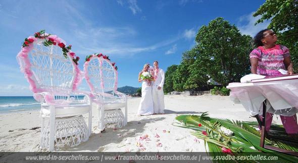 Hochzeit auf Mahe, Seychellen - (Ort, ausgefallen, Heirat)