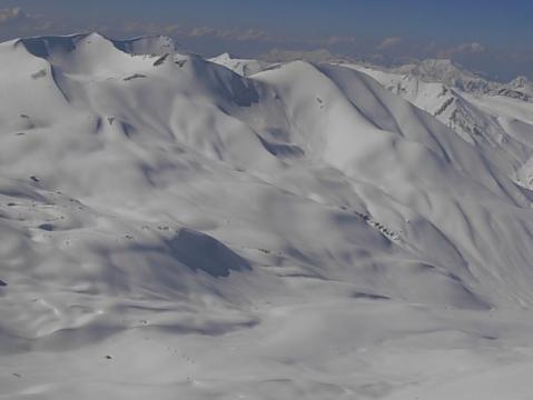 Gulmarg Pulverschnee Gebiet - (Indien, Skifahren, Himalaya)
