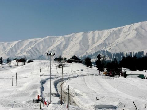Mt. Apharwat, Gulmarg - (Indien, Skifahren, Himalaya)