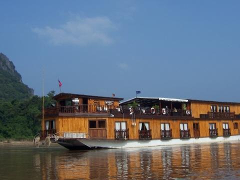- (Asien, Boot, Mekong)