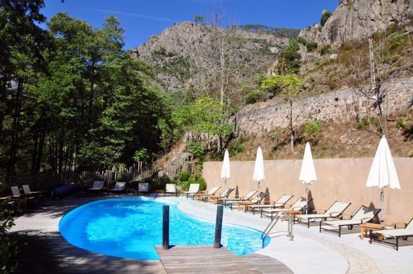 Hotel Dominique Colonna in Corte / Korsika - (Hotel, Frankreich, Korsika)