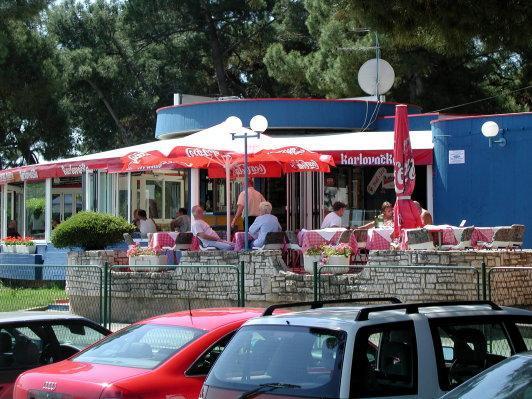 Porec , Hafen vor dem Hotel Parentium - (Europa, Kroatien, Urlaub am Meer)