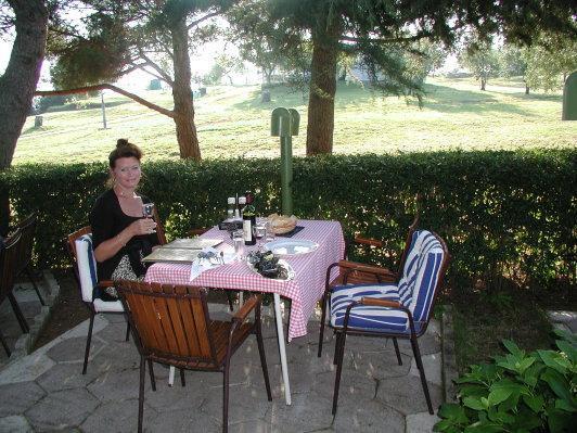 Unser bevorzugter Essplatz, gute und preiswerte Küche - (Europa, Kroatien, Urlaub am Meer)