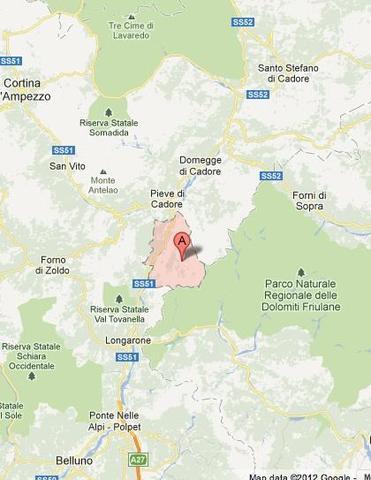 Wo liegt das Cadore Tal - (Italien, Wandern, Natur)