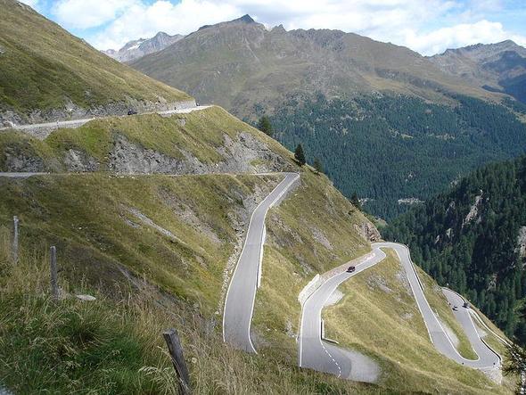 Timmelsjochpass - (Österreich, Alpen, Südtirol)