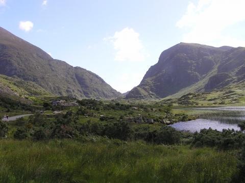Die Gap of Dunloe nahe Killarney - (Wandern, Irland)
