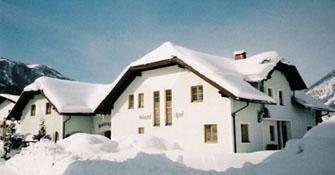 Frühstückspension Rosenhof im Winter - (Österreich, Rodeln, Salzkammergut)