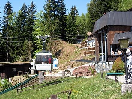Bergstation der Schliersbergbahn - (Deutschland, Seilbahn)