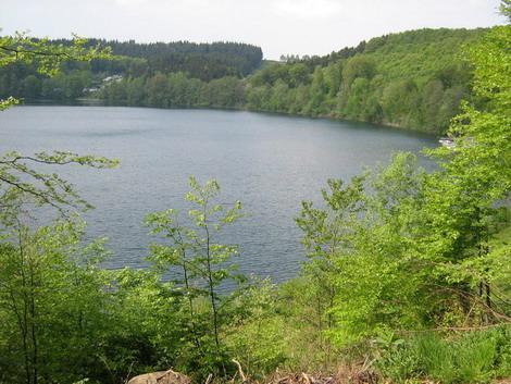 Das Pulvermaar - See   - (Deutschland, Ferienhaus, ferienwohnung)