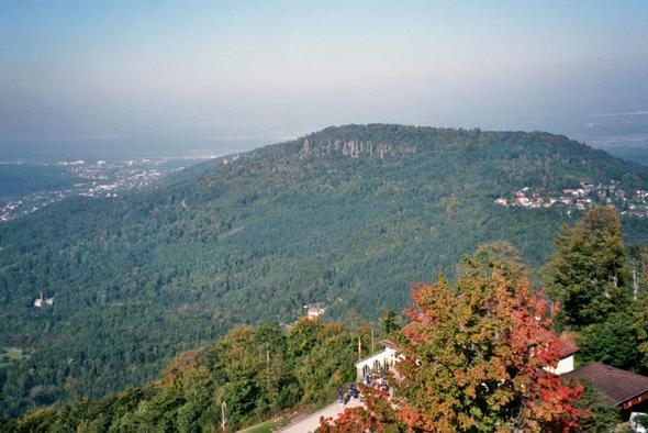 Blick vom Merkur - (Deutschland, Autoreise, Freiburg)