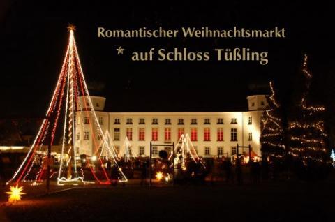 Schloss Tüssling - (Deutschland, Weihnachtsmarkt, Christkindlmarkt)