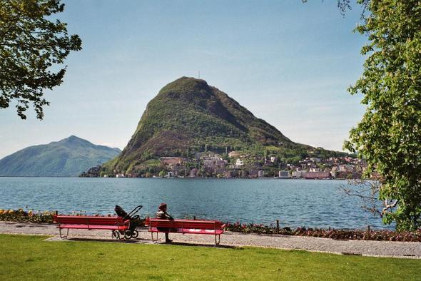 Lugano - (Österreich, Schweiz, Sommer)