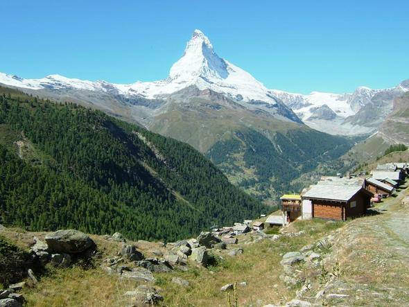 Findeln mit Matterhorn - (Österreich, Schweiz, Sommer)
