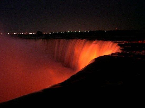 Niagara-Fälle - (USA, New York, Weihnachten)