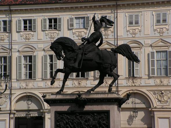 Piazza San Carlo - (Italien, Turin)