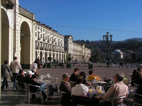 Piazza Vittorio Veneto - (Italien, Turin)