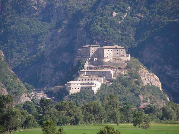 Festung Bard  - (Italien, Nationalpark, Gran Paradiso)