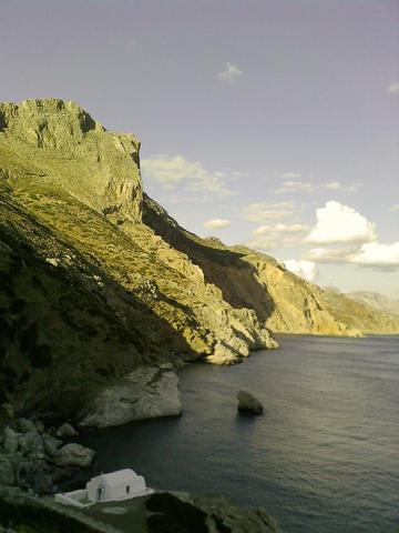 Agia Anna auf Amorgos - (Insel, Griechenland, Entspannung)