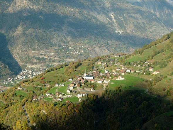Ergisch im Wallis - (Europa, Reiseziel, Natur)