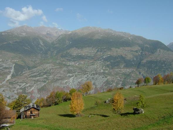 Oberems/Wallis - (Europa, Reiseziel, Natur)