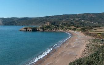 strand in Kythera - (Insel, Griechenland, Sandstrand)
