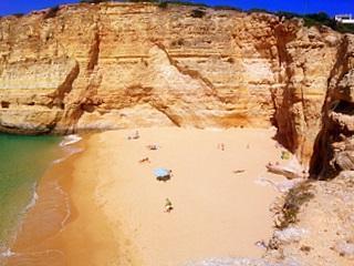 Praia Carvalho - (Europa, Portugal, Herbst)