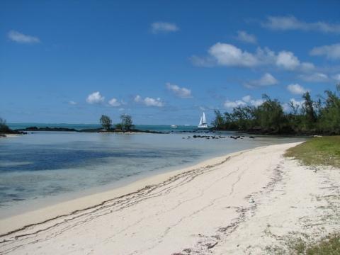 Strandabschnitt an der Ostküste - (Mauritius)