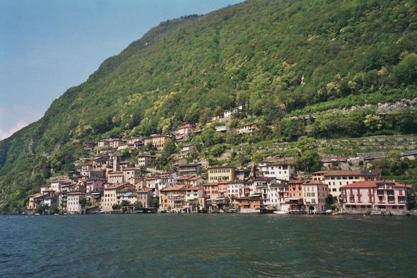 Gandria - (Europa, Italien, Schweiz)