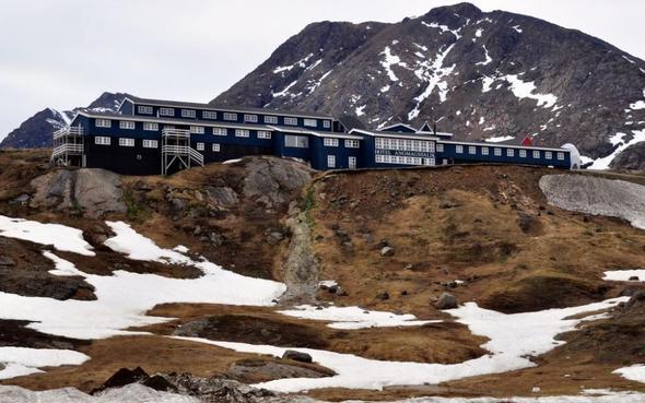 Hotel Ammassalik in Tasiilaq / Grönland - (Hostel, Couchsurfing, Grönland)