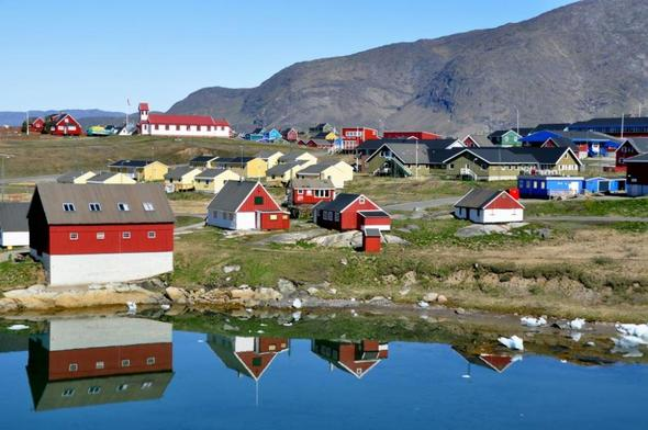 Narsaq / Südgrönland - (sehenswert, Region, Grönland)