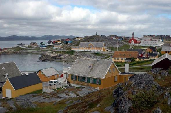 Nuuk / Westgrönland - (sehenswert, Region, Grönland)