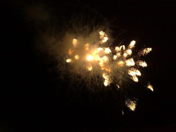 Feuerwerk in Cala Ratjada - (Spanien, Insel, Mallorca)