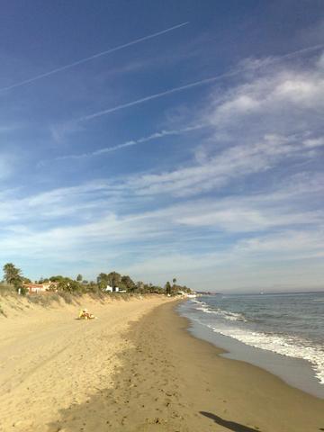 Strand bei Marbella - (Spanien, Sport, Strandurlaub)
