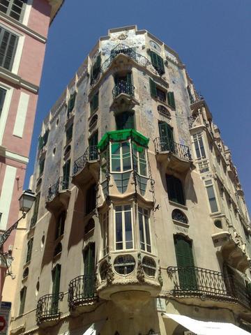 Jugendstilhaus in Palma - (Spanien, Mallorca, Cala Milor)