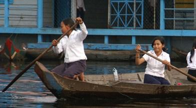Tonle Sap - (Asien, Kambodscha, Südostasien)