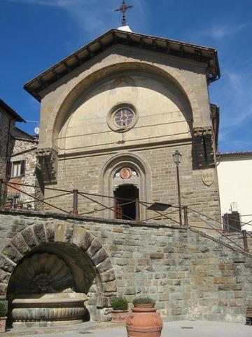 Das Herz von Rada im Chianti. - (Italien, Toskana, Chianti)