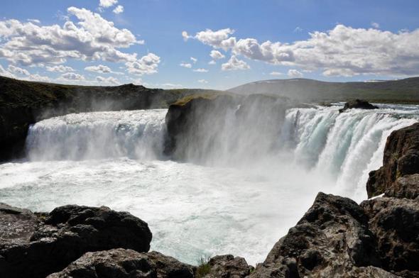 Goðafoss, Island - (Natur, Island, Wasserfall)