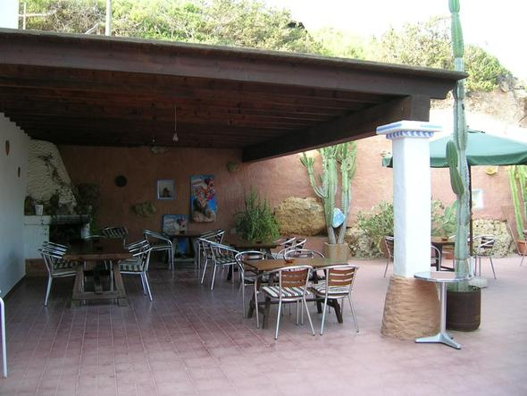 Es Alocs/ Terrasse - (Europa, Spanien, Hoteltipp)