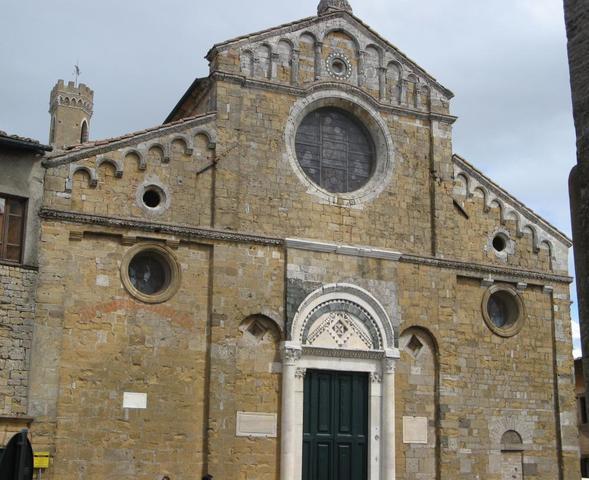 Dom in Volterra - (Italien, Sehenswürdigkeiten, Reiseziel)