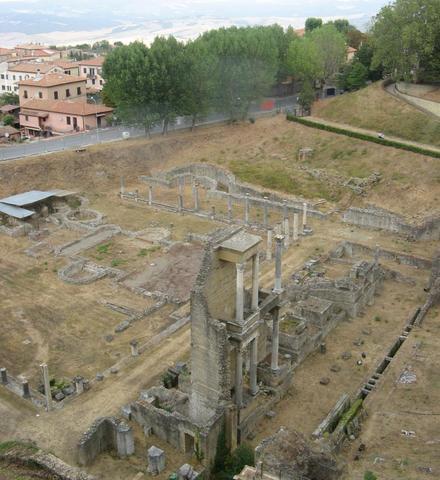 Römerreste in Volterra - (Italien, Sehenswürdigkeiten, Reiseziel)