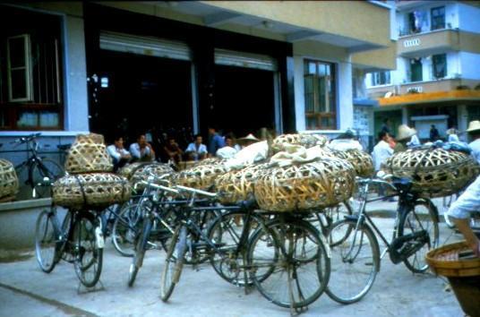 Nach dem Markt in der Altstadt von Chengdu - (Asien, China, Großstadt)