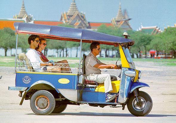 Tuktuk Bangkok - (Asien, Thailand, Bangkok)