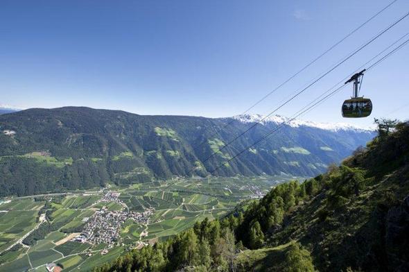 In den Naturpark Texelgruppe bequem per Seilbahn - Meraner Höhenweg - (Italien, Wandern, Südtirol)