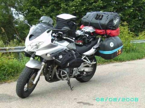 - (Norwegen, Route, Motorrad)